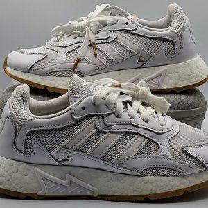 Adidas Tresc Run J Running Shoes Boys Size 5 White